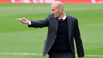 Zidane has been linked with Man Utd