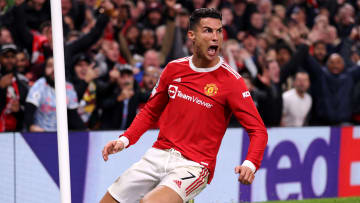 Ronaldo celebrates his late winner