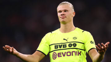 Erling Haaland may not play again this year
