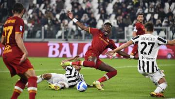 Uno scatto di Juventus-Roma