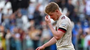 Bélgica perdeu a decisão do terceiro lugar da Nations League para a Itália
