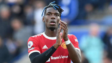 Pogba was frustrated at the final whistle