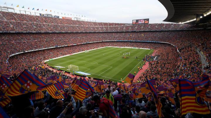 Camp Nou lotado! Barcelona vai poder preencher 100% do seu estádio a partir da próxima rodada da LaLiga.