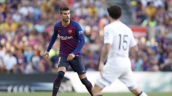 Piqué ante Barcelona
