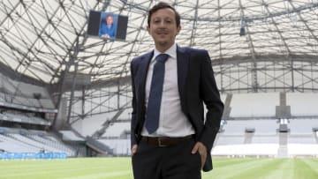 Pablo Longoria, Président de l'Olympique de Marseille.