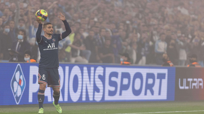 PSG : Marco Verratti absent pour 4 semaines au moins