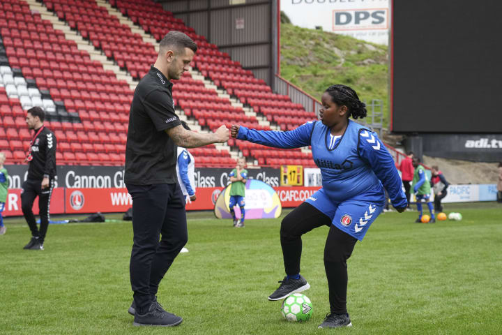 Jack WIlshere was at The Valley this week for the launch of Utilita Kids and Girls Cup