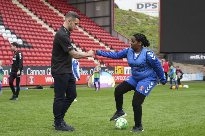 Jack WIlshere was at The Valley this week for the launch of Ultilia Kids and Girls Cup