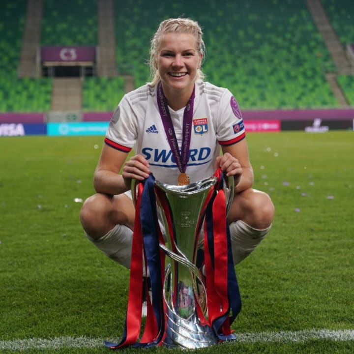 Hegerberg's enormous success has made her a huge role model for emerging female players