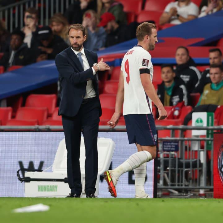 Gareth Southgate, Harry Kane