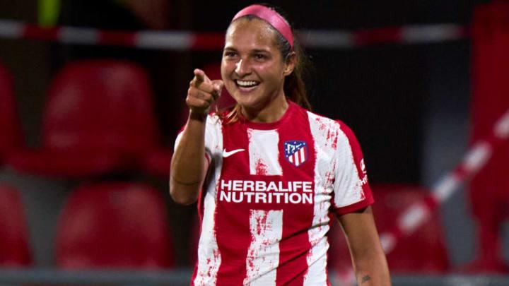 Deyna Castellanos from Atletico de Madrid