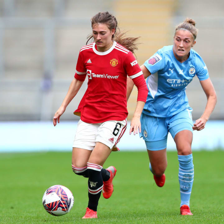 Blundell has been in 90min's WSL team of the week three times already this season