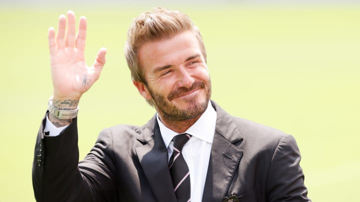 David Beckham stands as one of the most famous players in MLS history