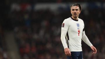 Grealish was brought off with England level with Hungary
