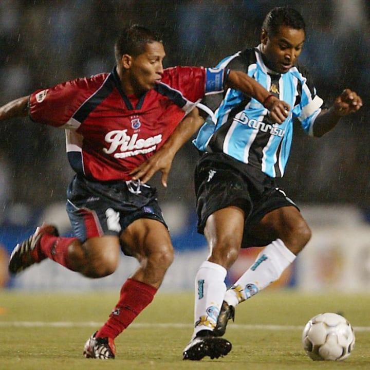 Grêmio Libertadores 2003 Eliminação Medellín