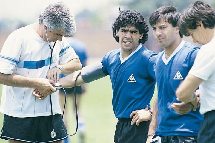 Diego Maradona, Raul Madero, Julio Olarticoechea