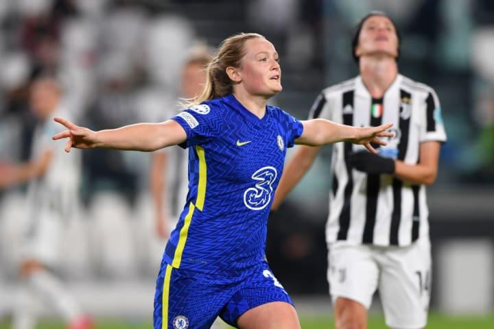 Erin Cuthbert broke the deadlock for Chelsea