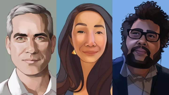 Jeff Strain, Jane Ng and Austin Walker are three of the founding members of Possibility Space.