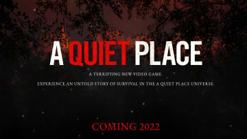 A Quiet Place is getting a video game adaptation.
