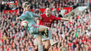 Torres and Vidic tussled famously when Man Utd faced Liverpool