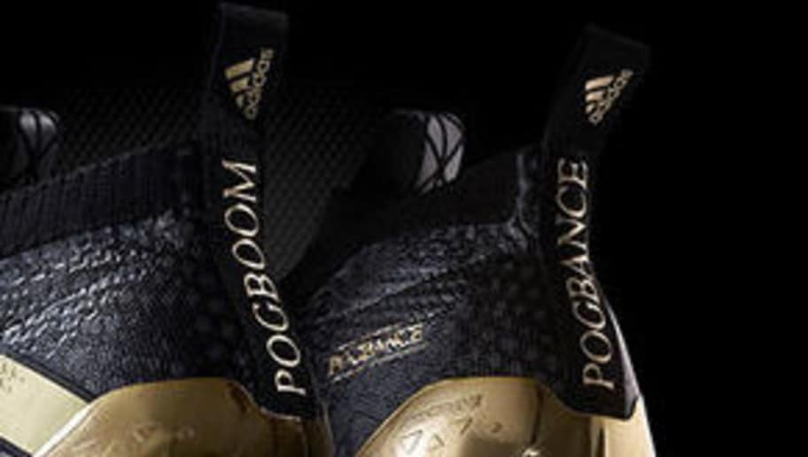 Adidas Un Avec Dévoile Pogba En OfficielPaul Signe Or Contrat Et 0wP8nOk