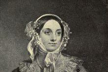 American cookbook author Eliza Leslie