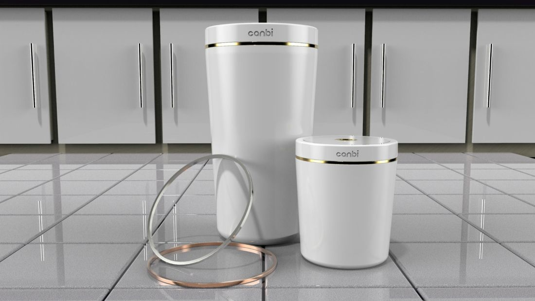 "The ""World's Cleanest Garbage Can"" Won't Stink Up Your Kitchen"