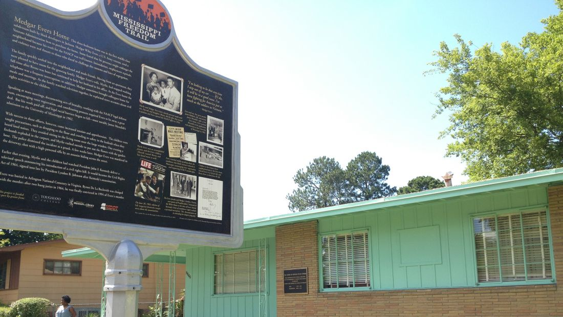 Medgar Evers's Mississippi Home Is Now a National Monument