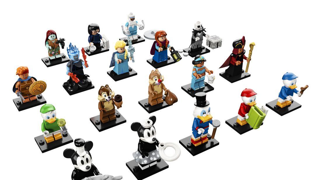 18 Disney Characters Just Got the LEGO Treatment