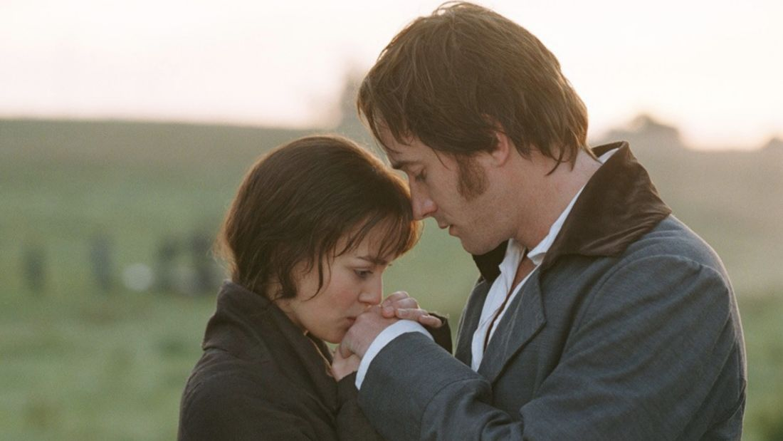 Keira Knightley and Matthew Macfadyen in Pride & Prejudice (2005)
