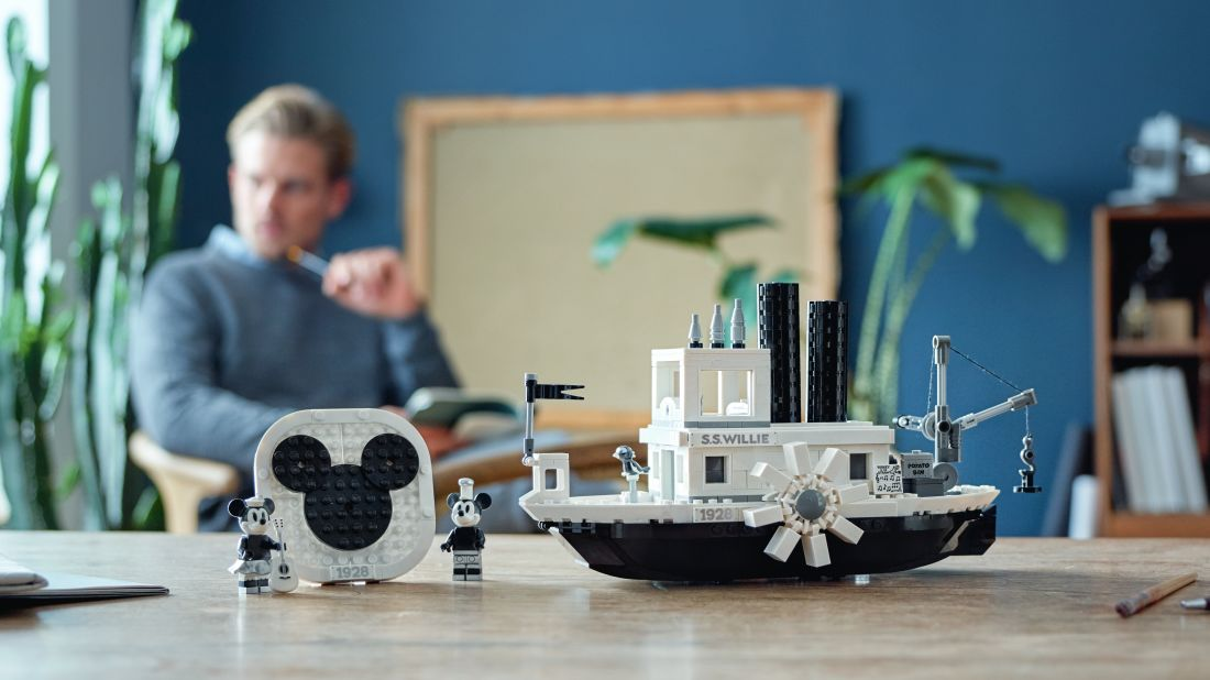 Disney's Steamboat Willie Has Been Immortalized in LEGO