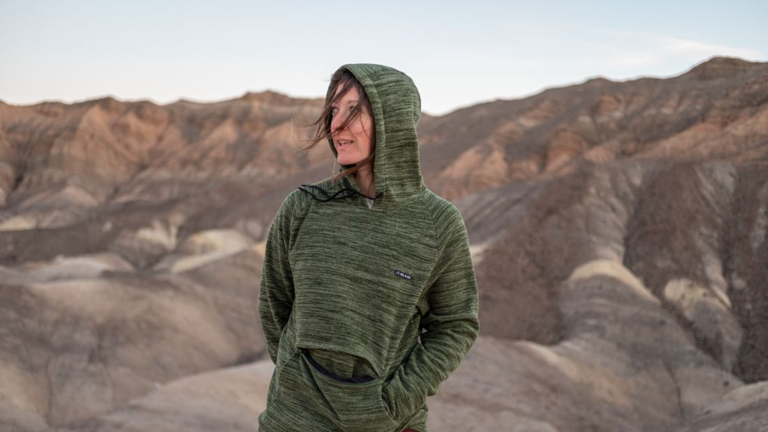These Hoodies Are Made From Recycled Plastic Bottles and Used Coffee Grounds