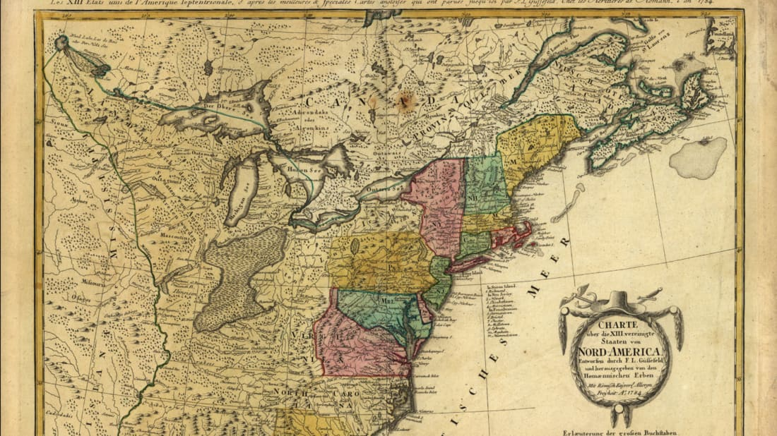 The Quick 13: Where the 13 Colonies Got Their Names | Mental