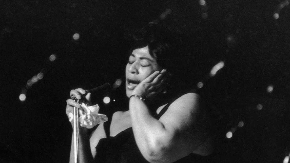 Ella Fitzgerald circa 1963. Getty