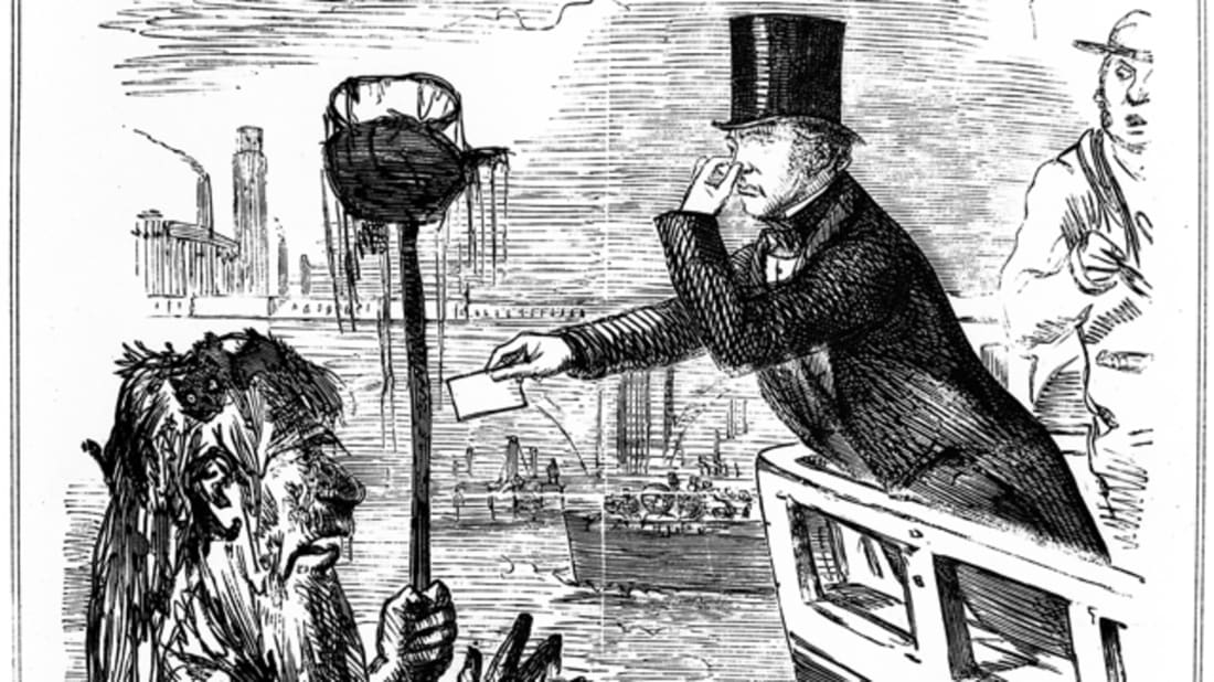 How 'The Great Stink' Infiltrated London in 1858 | Mental Floss