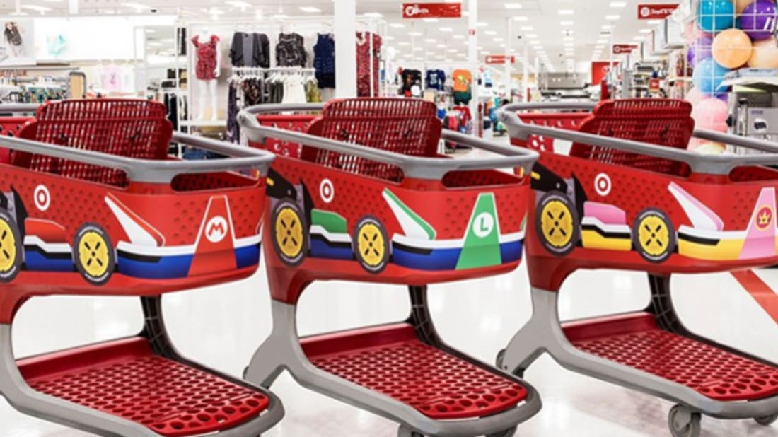 Target Is Getting a Mario Kart Makeover