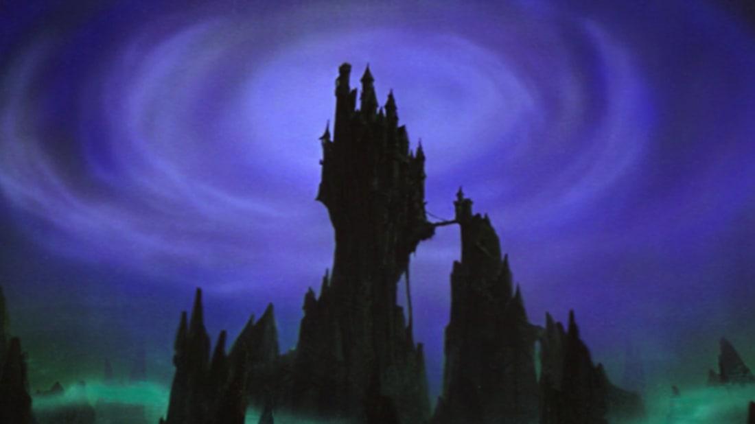 Maleficent's castle. Image credit: Disney via Disney Wikia
