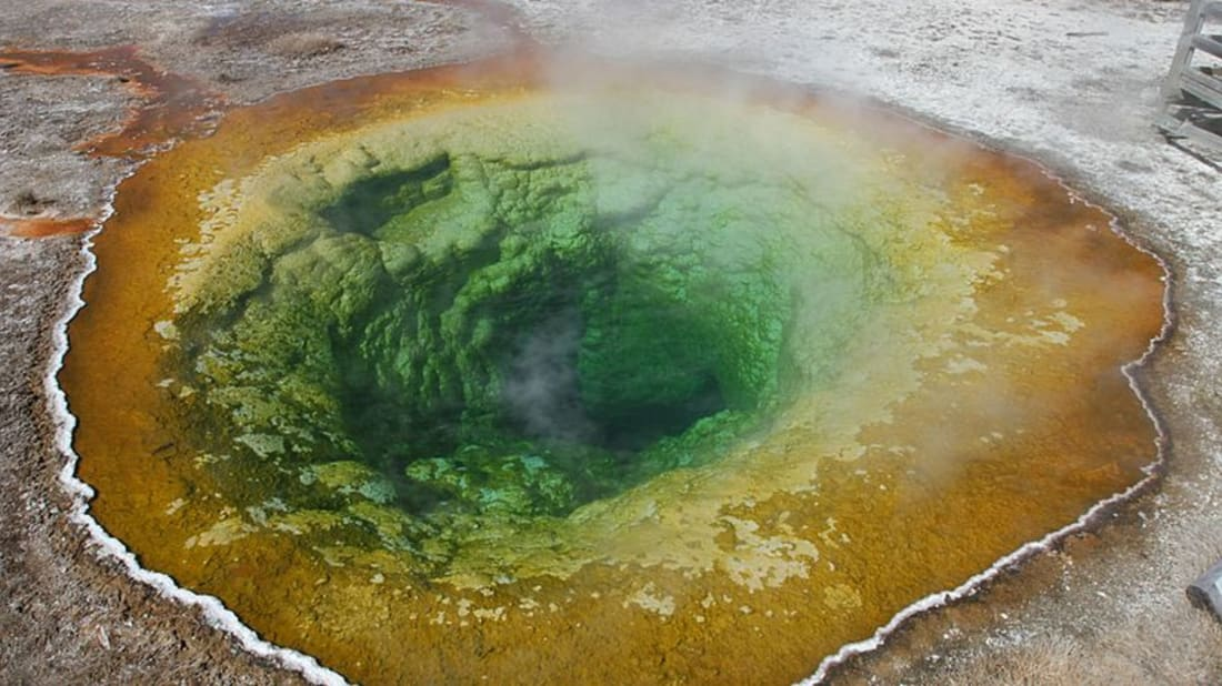 Yellowstone National Park via Wikimedia Commons // Public Domain