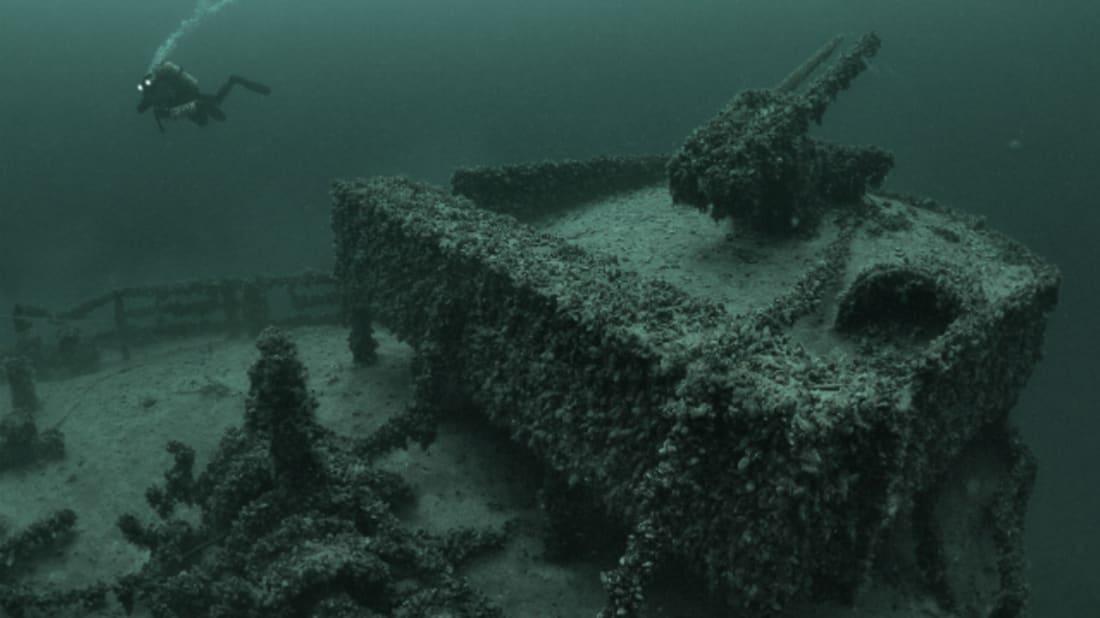 The Deepest Shipwreck Ever Found