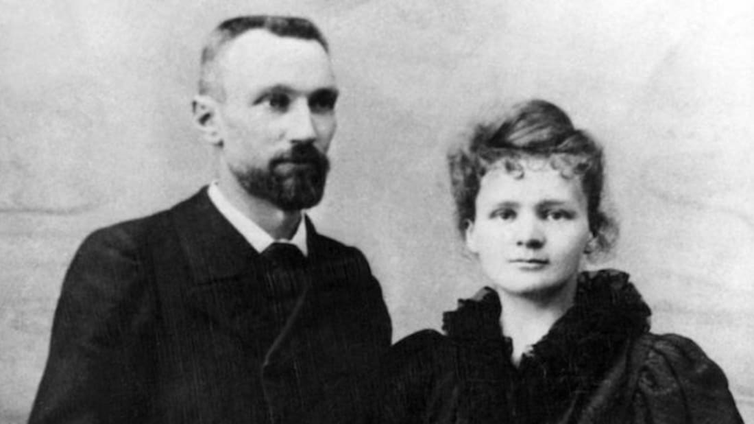 Pierre and Marie Curie. Image Credit: Getty