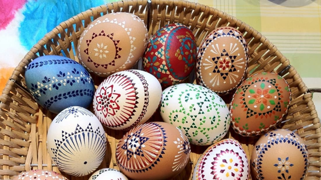 10 Creative Easter Egg Decorating Techniques Mental Floss