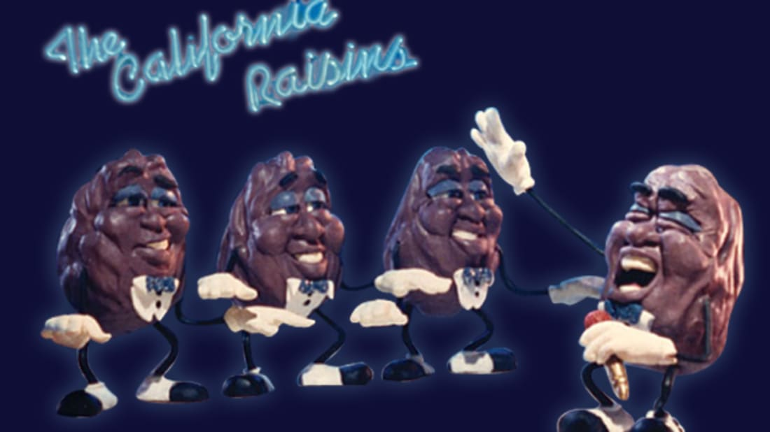 The California Raisins: How A Bunch of Dried Grapes Became A