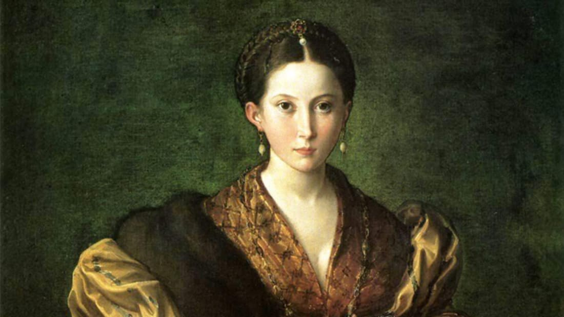 Antea (or Portrait of a Young Woman) by Parmigianino // Wikimedia Commons