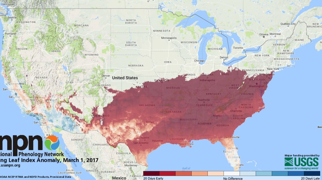 USA National Phenology Network