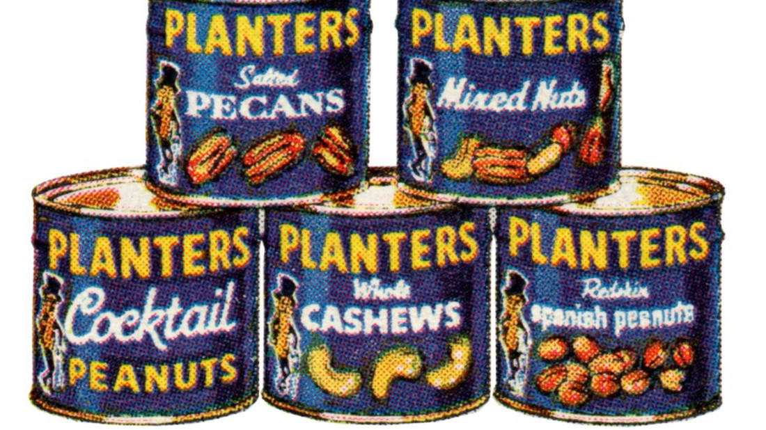 An ad circa 1964. via Mr. Peanut on Facebook