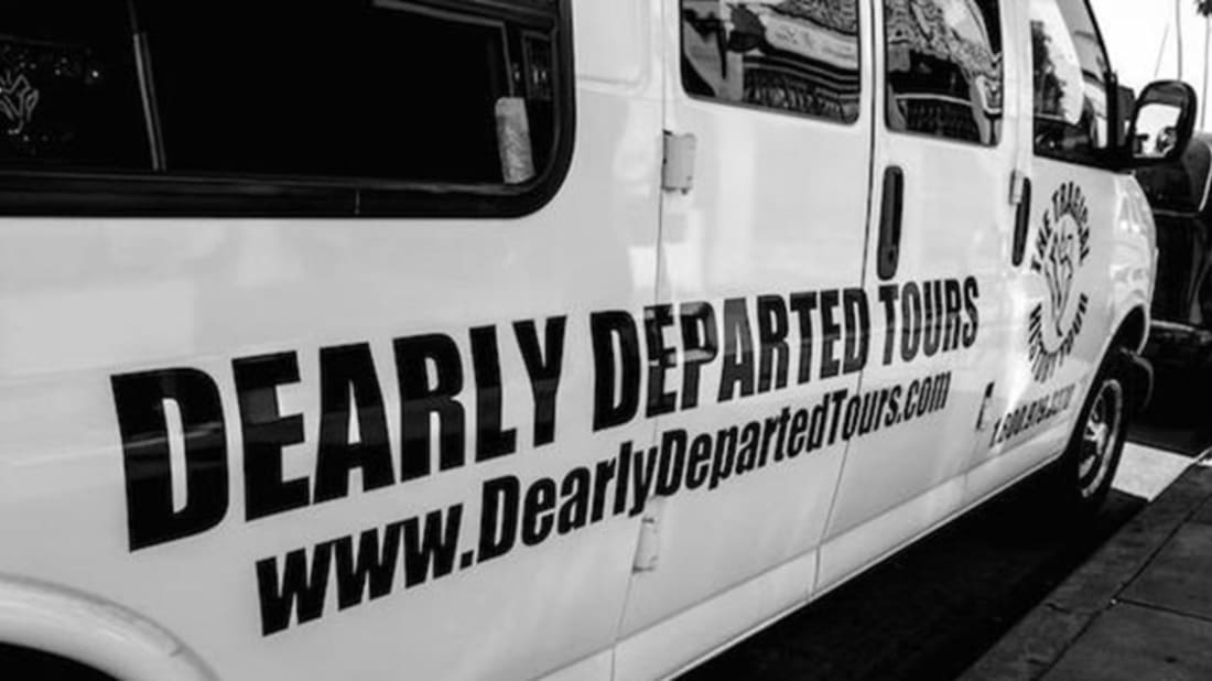 Dearly Departed Tours via Facebook