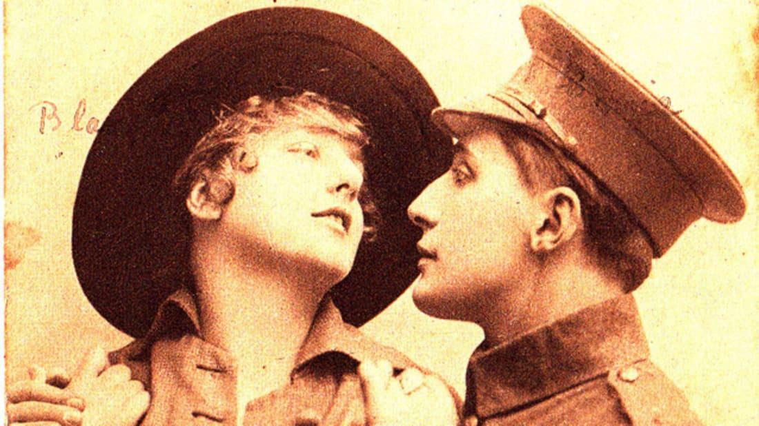 British postcard from World War I. Image credit: Europeana