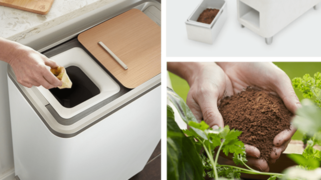 New Food Recycling Appliance Will Turn Scraps Into Fertilizer in 24 Hours