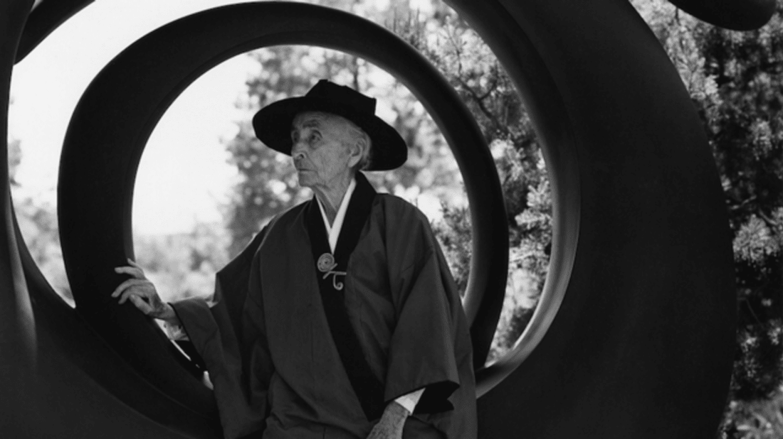 1984 Georgia O'Keeffe portrait by Bruce Weber. Image credit: Bruce Weber and Nan Bush Collection, New York