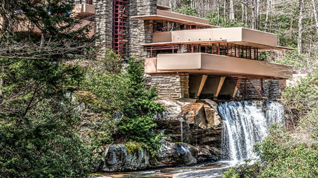 12 Facts About Frank Lloyd Wrights Fallingwater Mental Floss